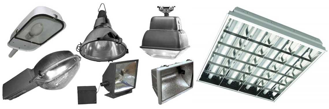 Монтаж внутреннего и наружного освещения зданий, светильников, прожекторов на улице