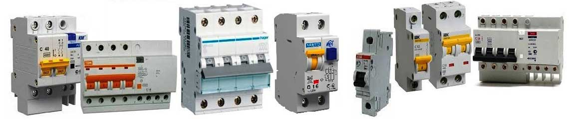 Замена, монтаж автоматов в электрощите СПб