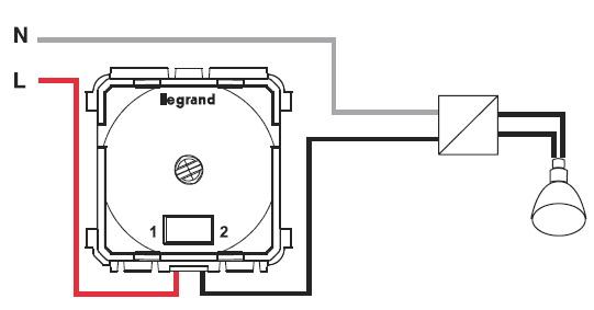 Схема установки и подключения диммера - электрик СПб