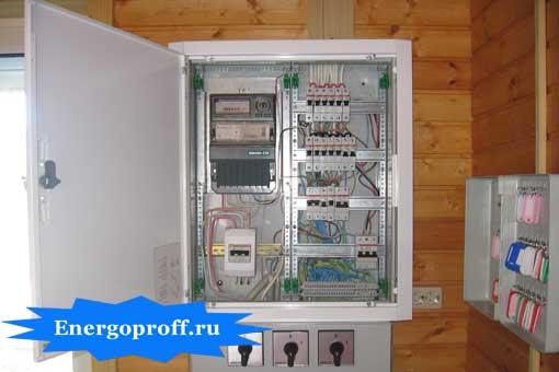 Монтаж и подключение, ремонт электрощитов в Санкт-Петербурге СПб