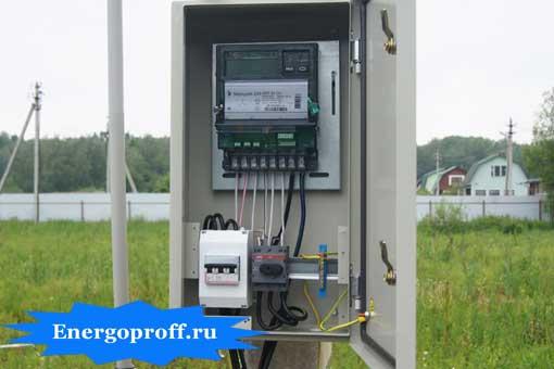 Сборка и монтаж электрощитков в частном доме, коттедже в Санкт-Петербурге СПб