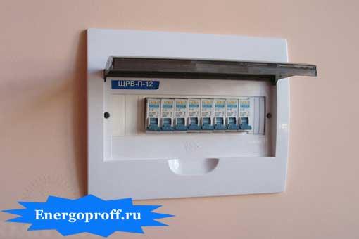 Подключение электрощита в квартире в Санкт-Петербурге СПб