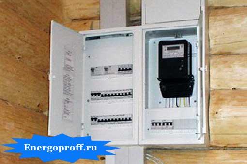 Установка и подключение электрощита на дачном участке в Санкт-Петербурге СПб