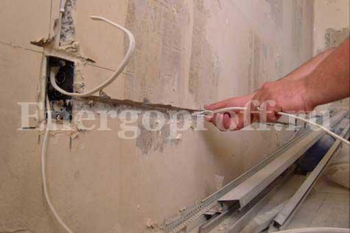 Замена электропроводки в Санкт-Петербурге. Монтаж проводки в СПб