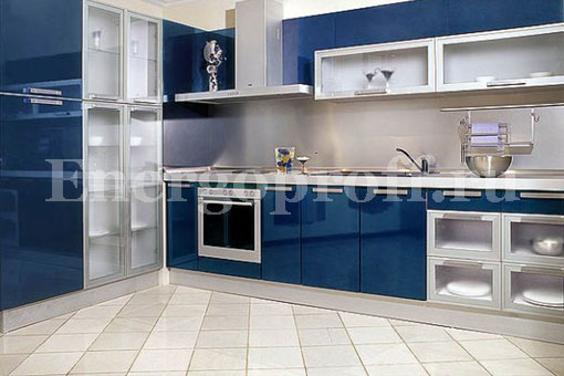 Укладка плитки на пол, стену на кухне в Санкт-Петербурге СПб