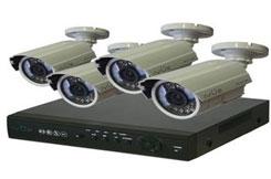 Комплект видеонаблюдения из 4-х камер