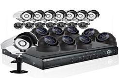 Комплект видеонаблюдения из 16 камер СПб