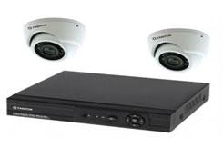 Комплект видеонаблюдения из 2 камеры